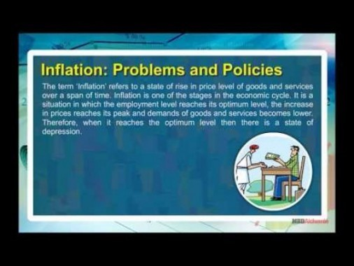 Class 11 Economics - Inflation - Problems And Policies Video by MBD Publishers