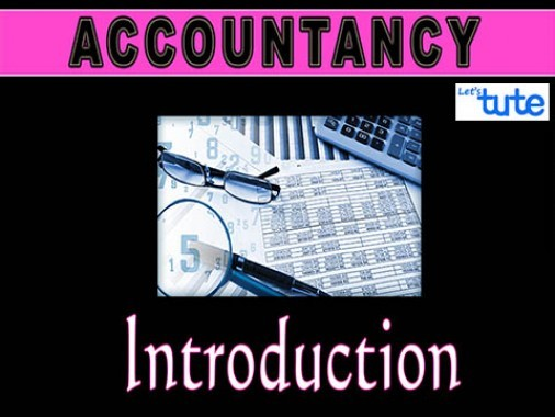 Class 11 Accountancy - Introduction To Accounting - Book-Keeping Video by Let's Tute