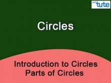 Class IX Maths - Introduction To Circles - Parts Of Circles Video By Lets Tute