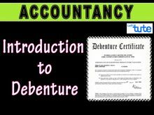 Class 12 Accountancy - Introduction To Debentures Video by Let's Tute