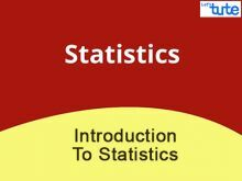 Class 9 & 10 Mathematics - Introduction To Statistics Video by Lets Tute