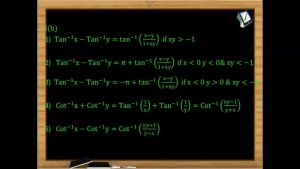 Inverse Trigonometric Functions - Compound Angle Formulae 1 (Session 3 & 4)