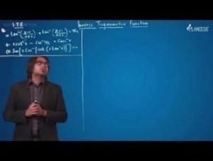 Inverse Trigonometric Functions - Inverse Trigonometric Function Video By Plancess