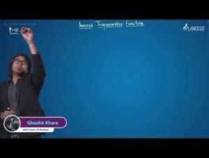 Inverse Trigonometric Functions - Property-XI Part-I Video By Plancess