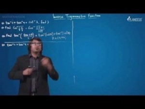 Inverse Trigonometric Functions - Questions-III Video By Plancess