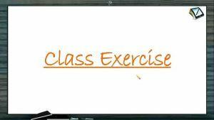 Ionic Equilibrium - Class Exercise (Session 1)
