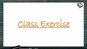 Ionic Equilibrium - Class Exercise (Session 2)
