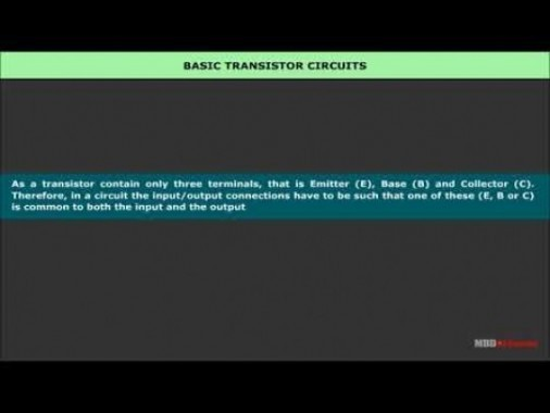 Class 12 Physics - Junction Transistor Video by MBD Publishers