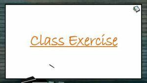 Kinematics - Class Exercise-I (Session 10 11 & 12)