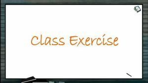 Kinematics - Class Exercise-I (Session 6)
