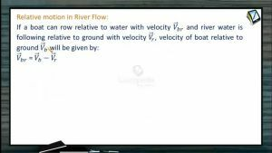 Kinematics - Relative Motion In River Flow With Different Cases (Session 18 & 19)