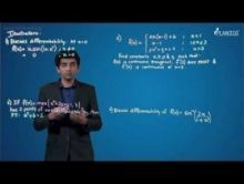 Limits Continuity And Differentiability - Illustrations-IV Video By Plancess