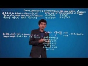 Limits Continuity And Differentiability - JEE Mains Problem-II Video By Plancess