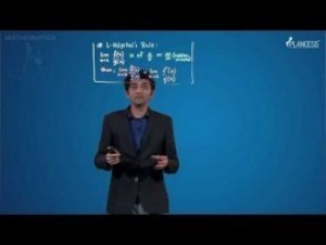 Limits Continuity And Differentiability - Limit Theorems - Derivative And L-H Rule-II Video By Plancess
