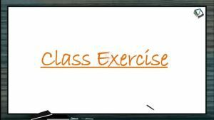 Locomotion And Movement - Class Exercise (Session 1)