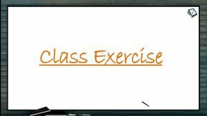 Locomotion And Movement - Class Exercise (Session 2)