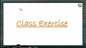 Locomotion And Movement - Class Exercise (Session 4)