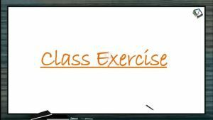 Locomotion And Movement - Class Exercise (Session 6)