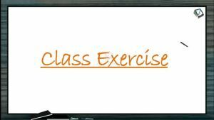 Locomotion And Movement - Class Exercise (Session 7)