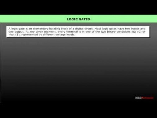 Class 12 Physics - Logic Gates Video by MBD Publishers