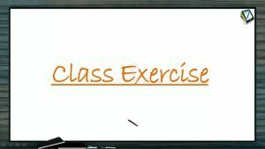 Magnetic Effect of Electric Current - Class Exercise (Session 1)