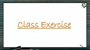 Magnetic Effect of Electric Current - Class Exercise (Session 4)