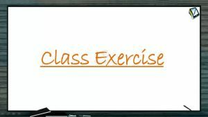 Magnetic Effect of Electric Current - Class Exercise (Session 5)