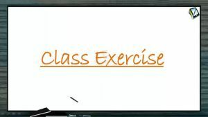 Magnetic Effect of Electric Current - Class Exercise (Session 7)