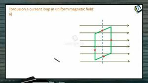 Magnetic Effect of Electric Current - Torque On Current Loop (Session 9)