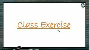Magnetism - Class Exercise (Session 1)
