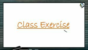 Magnetism - Class Exercise (Session 3)