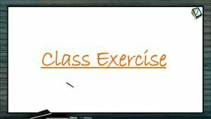 Magnetism - Class Exercise (Session 4)
