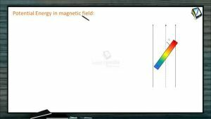 Magnetism - Potential Energy In Magnetic Field (Session 2)