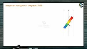 Magnetism - Torque On A Magnet In Magnetic Field (Session 2)