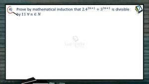 Mathematical Induction - Class Exercise 2 (Session 1 & 2)