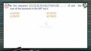 Mathematical Induction - Class Exercise 3 (Session 1 & 2)