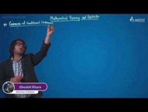Mathematical Reasoning And Statistics - Terminologies Video By Plancess