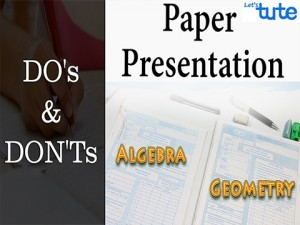 Examination Tips And Strategies - Mathematics Paper Presentation Tips For Board Exam Video by Lets Tute