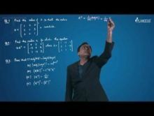 Matrices - Problems On Adjoint & Inverse Of Matrices Video By Plancess