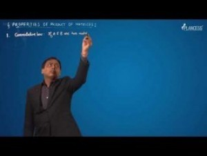 Matrices - Properties Of Product Of Matrices Video By Plancess
