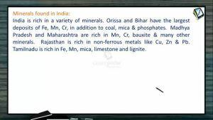 Metallurgy - General Principle Of Metallurgy (Session 1)