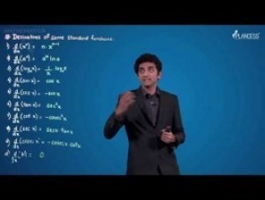 Methods Of Differentiation & Applications Of Derivatives - Derivatives Of Standard Function Video By Plancess