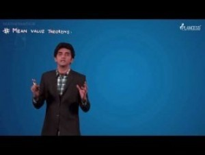Methods Of Differentiation & Applications Of Derivatives - Mean Value Theorem Video By Plancess
