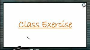 Mineral Nutrition - Class Exercise (Session 1)