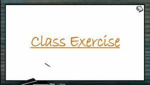 Mineral Nutrition - Class Exercise (Session 2)