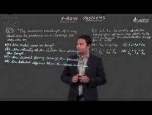 Modern Physics - X- Rays Problem-II Video By Plancess