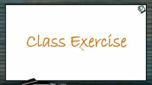 Mole Concept (Basic Concepts of Chemistry) - Class Exercise Part I (Session 6)