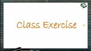Mole Concept (Basic Concepts of Chemistry) - Class Exercise (Session 3)