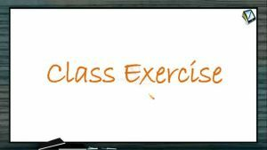 Mole Concept (Basic Concepts of Chemistry) - Class Exercise (Session 5)