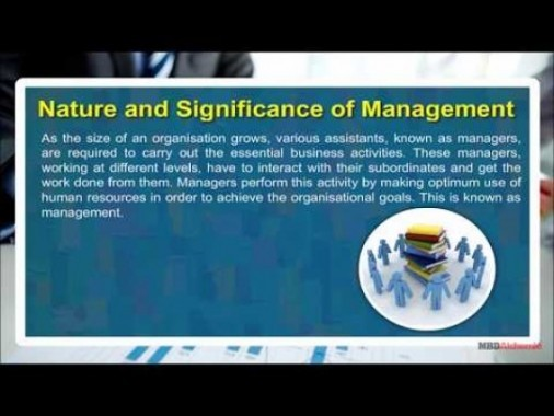 Class 12 Business - Nature And Significance Of Management-II Video by MBD Publishers